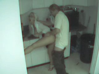 Blonde secretary wasted and filmed namby pamby security cam