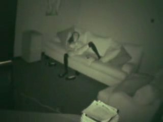 Hotel teahouse equipped by security cam Crazy