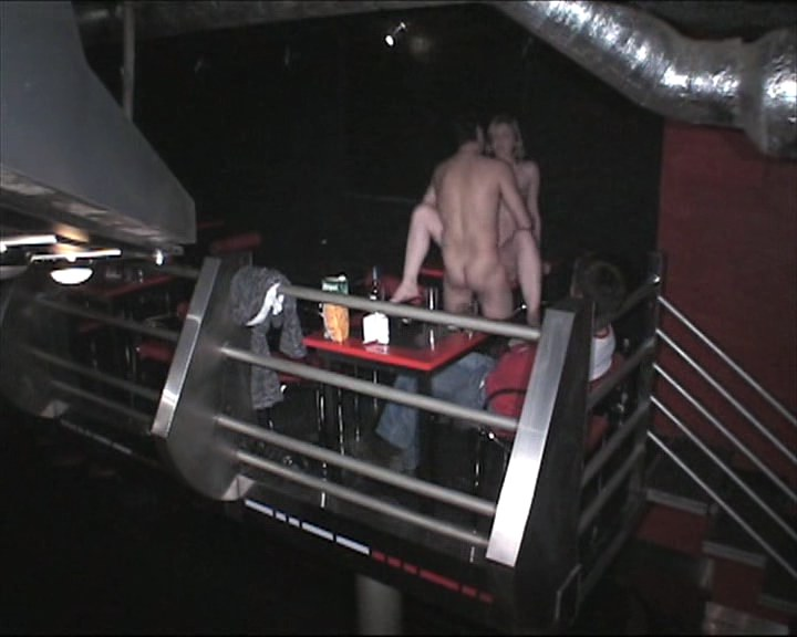 assfucked in the nightclub shot by security cam