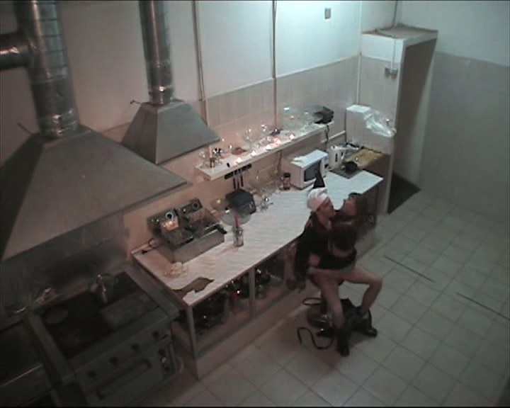 honcho fucking slutty chick in the kitchen
